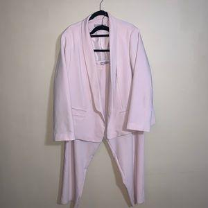 Asos Pink Lightweight Suit  Sz 24W